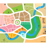 City map vector 64238