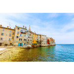 Old town Rovinj on a sunny day by Adriatic sea, Croatia 64238