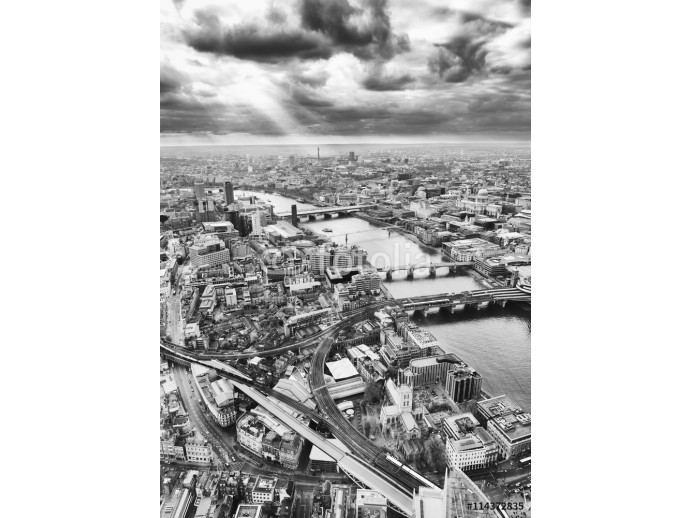 London skyline, Black and White 64238