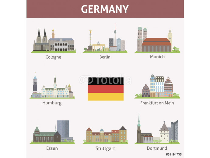 Germany. Symbols of cities 64238