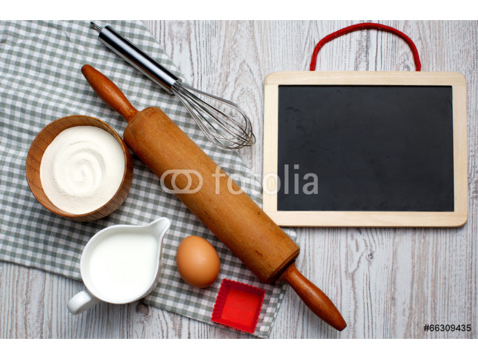 Cooking concept. Ingredients and kitchen tools 64238