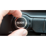 Control button with the word Ready 64238