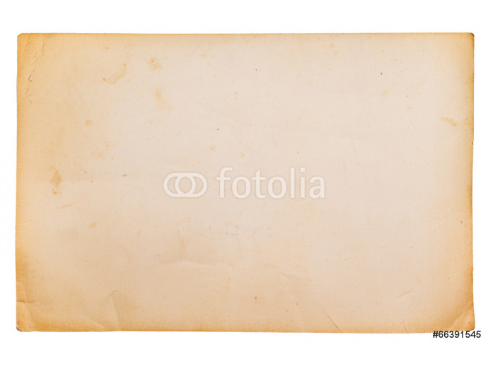 Old paper isolated on white background 64238