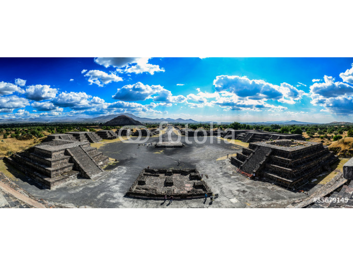Fotomural decorativo Avenue of the dead, Teotihuacan 64238