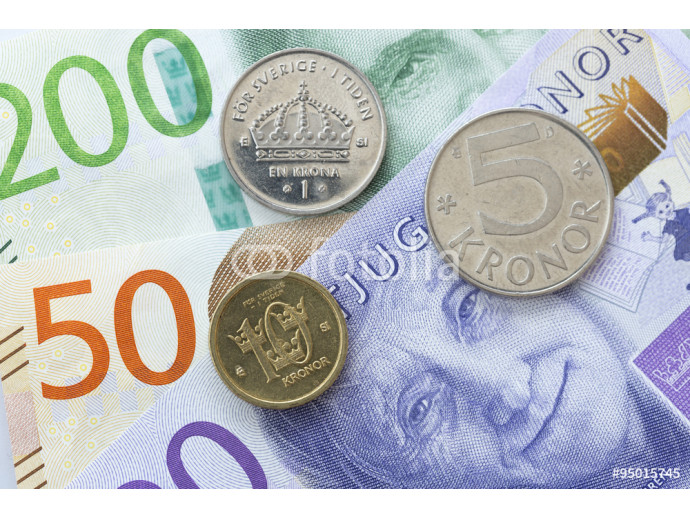 Wallpaper Swedish Currency Close Up 64238