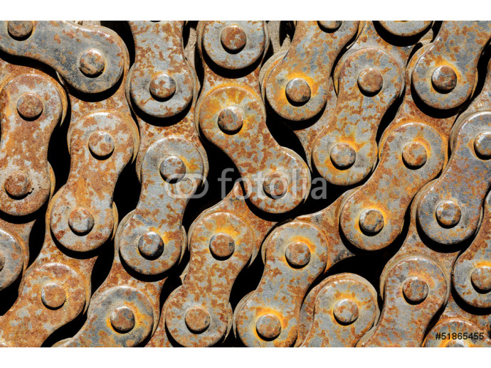 Rusty chain from bicycle 64238
