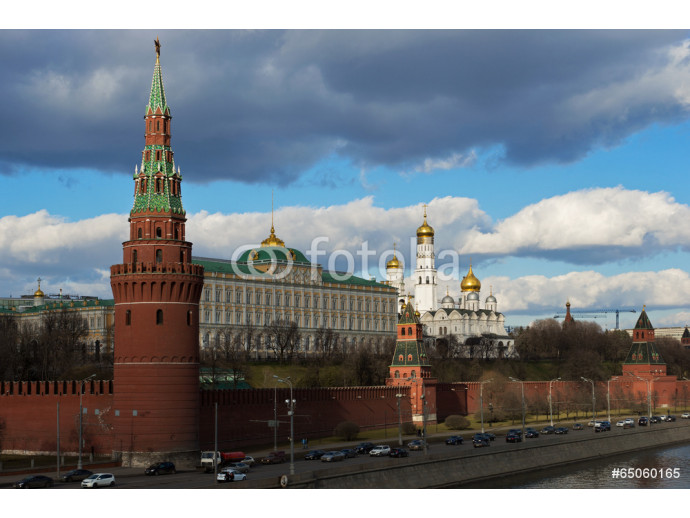 View to Moscow Kremlin from Sofiyskaya embankment, Russian Feder 64238