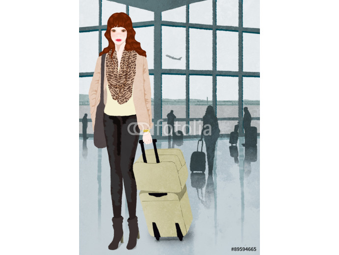 woman on travel 64238