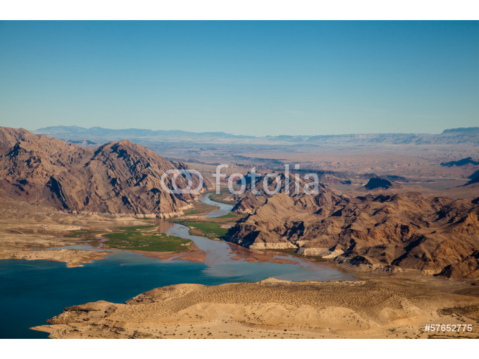 Lake Mead Aerial View 64238