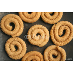 Chakli is a popular Indian festive snack 64238
