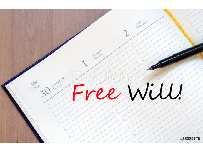 Free will concept 64238