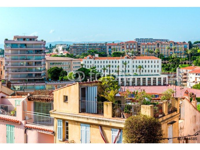 Vliestapete Panoramic view of Cannes city, France 64238