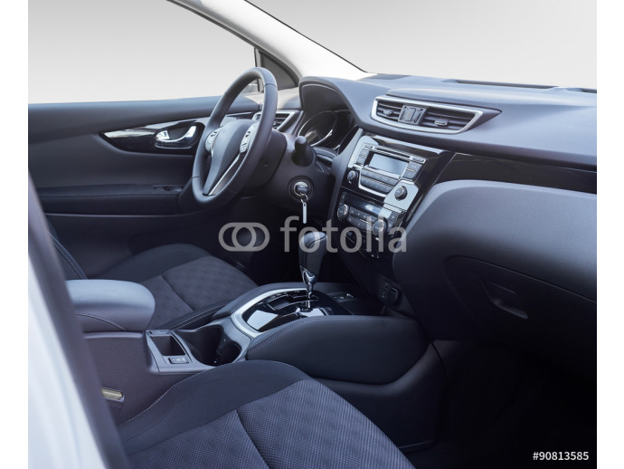 Car interior. Dashboard. 64238