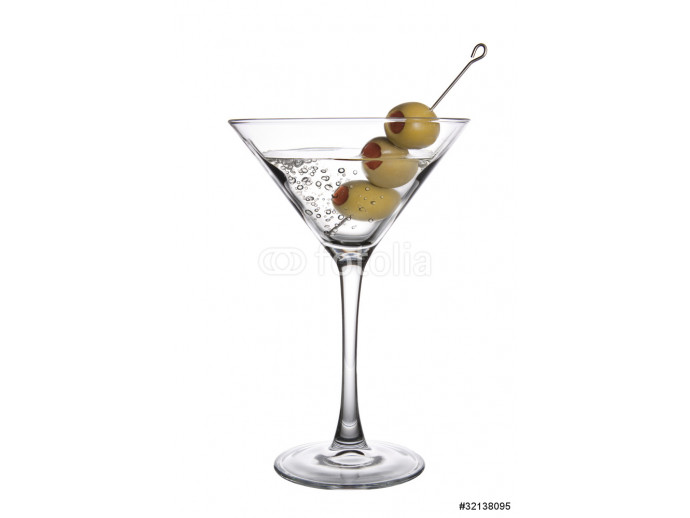 Olive Martini with Bubbles 64238