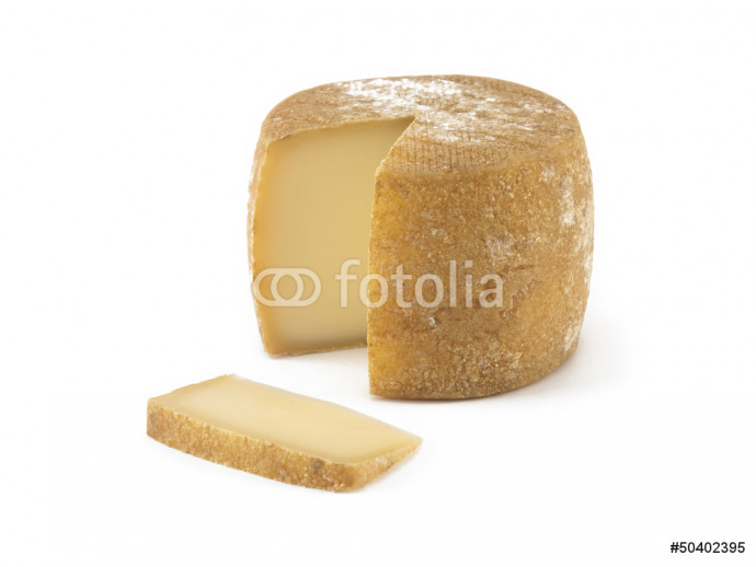 Spanish cheese on isolated background 64238