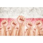 Poland Labour movement, workers union strike 64238