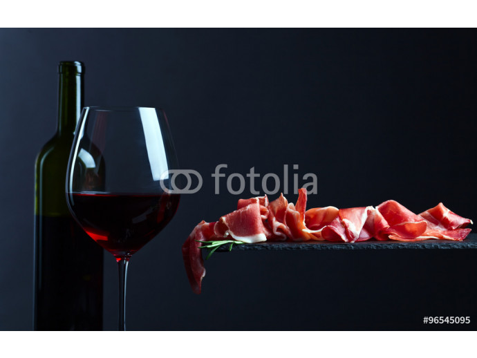 jamon with red wine 64238