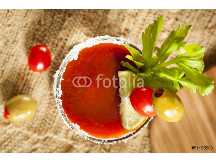 Spicy Bloody Mary Alcoholic Drink 64238