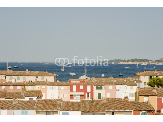 The bay of St Tropez 64238