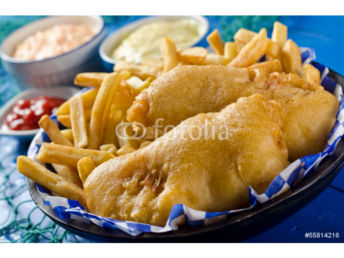 Two Piece Fish and Chips 64238