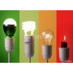 positioning of various lightings by energy savings and by colors 64238