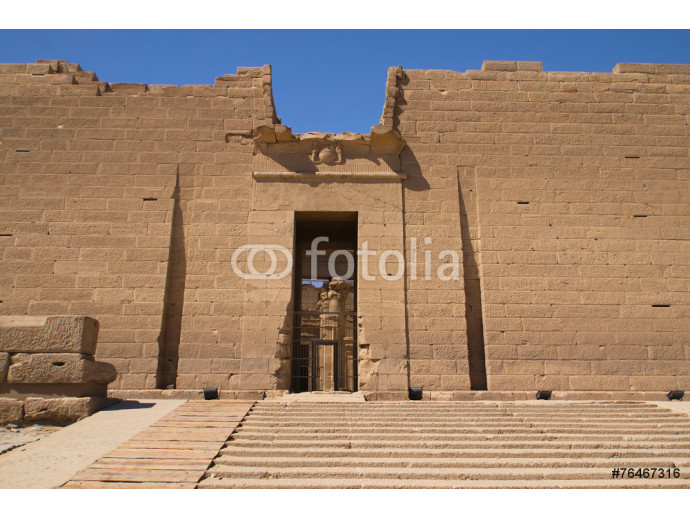 The entrance to the Temple of Kalabsha (Egypt, Africa). 64238