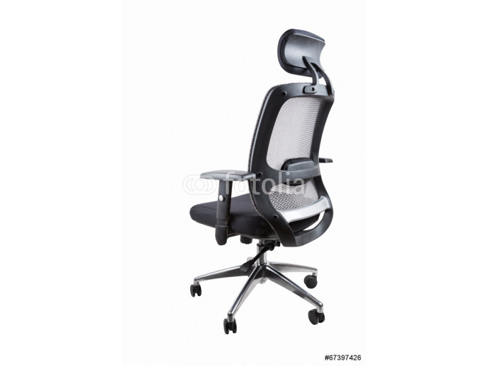 comfortable office swivel chair isolated 64238