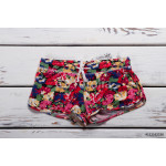Summer shorts with floral print. 64238