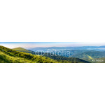 hillside panorama in Carpathian mountains 64238