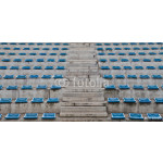 old plastic blue seats 64238