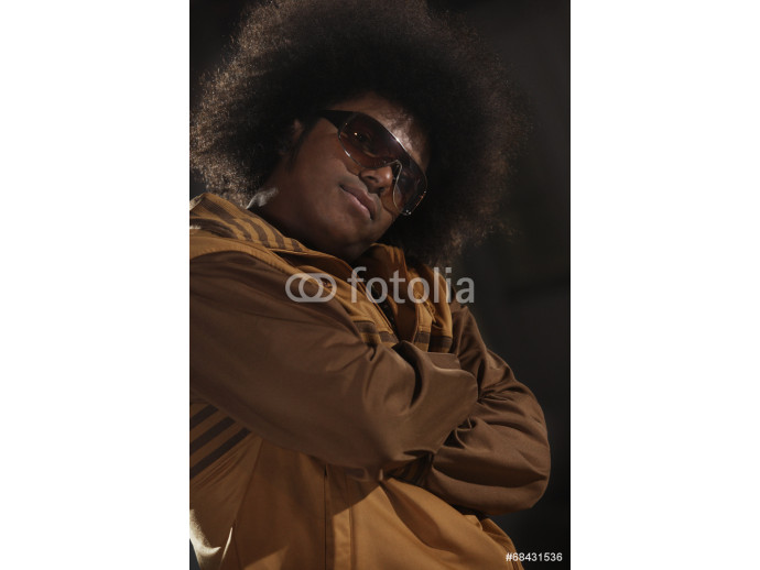Fotomural decorativo African American male breakdance 64238