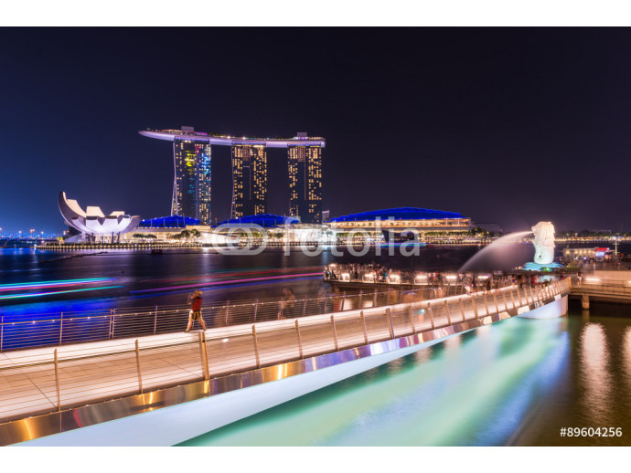 The Marina Bay Sands Resort Hotel in Singapore. Marina Bay Sands is an integrated resort and the world's most expensive standalone casino property 64238