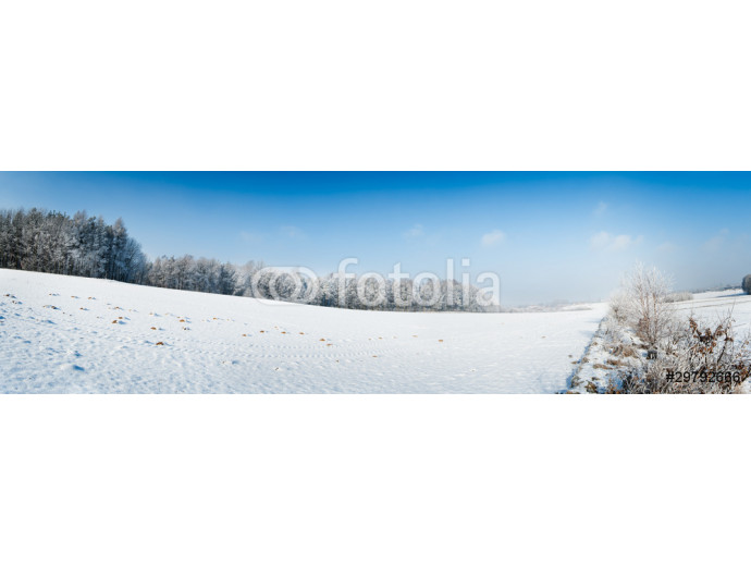 Vliestapete winter field panorama 64238