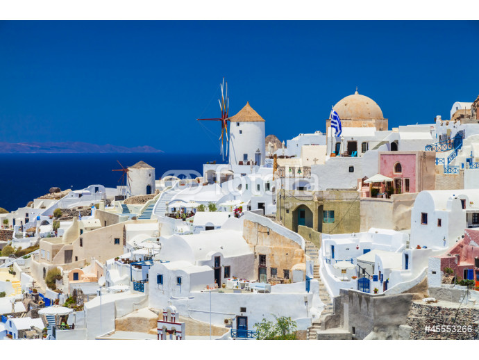 Oia village in Santorini island,Greece 64238