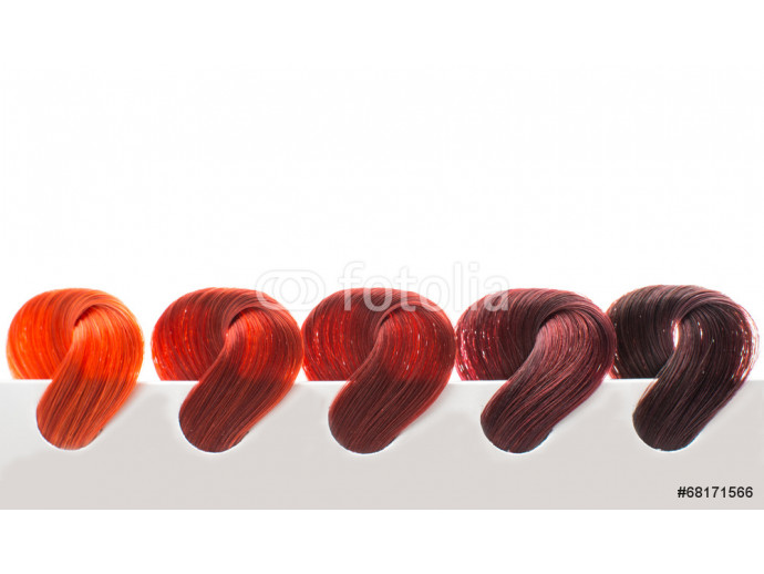 hair samples of different colors 64238