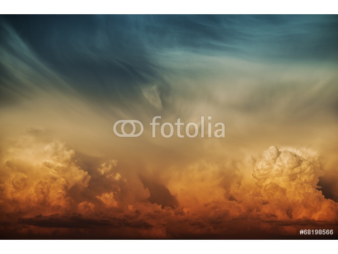 Stormy Cloud Nature Backdrop 64238