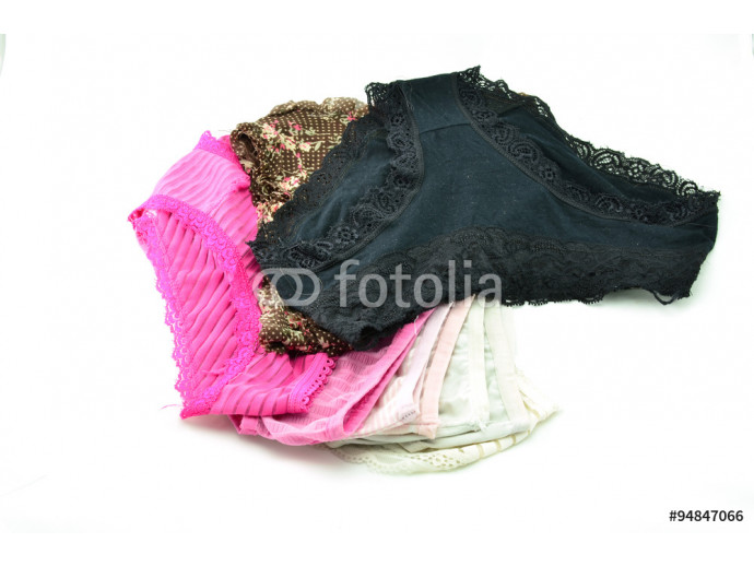 panties Isolated on white background 64238