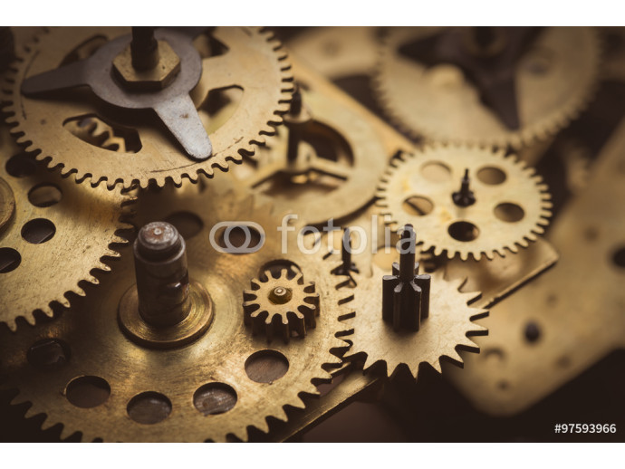 Gears and cogs macro 64238