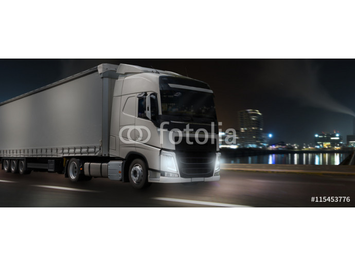 Truck at Night  64238