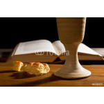 Bible With Bread And Chalice 64238