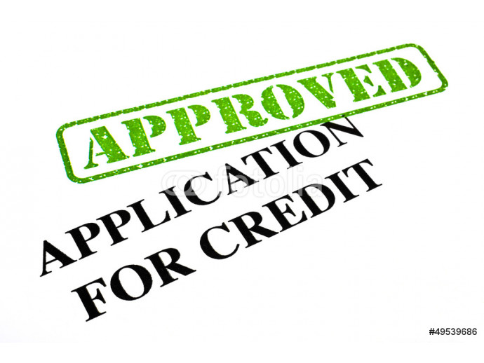 Application For Credit APPROVED 64238