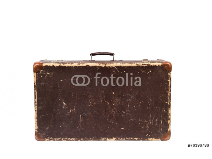 Wallpaper Old suitcase. Vintage style 64238