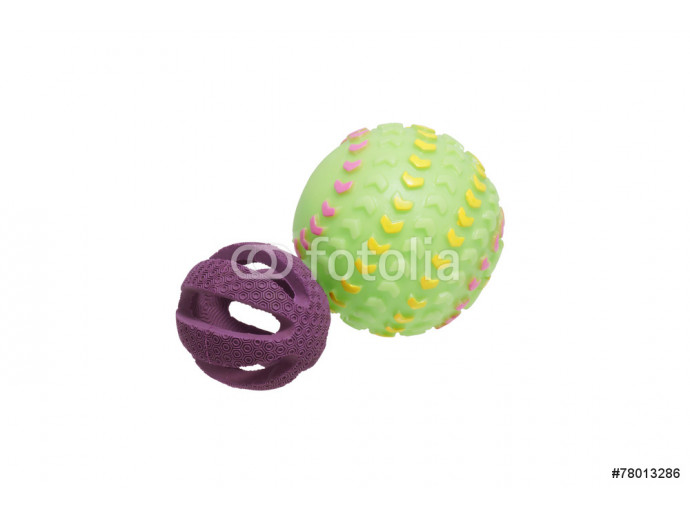 Two toys for dogs. Balls. 64238