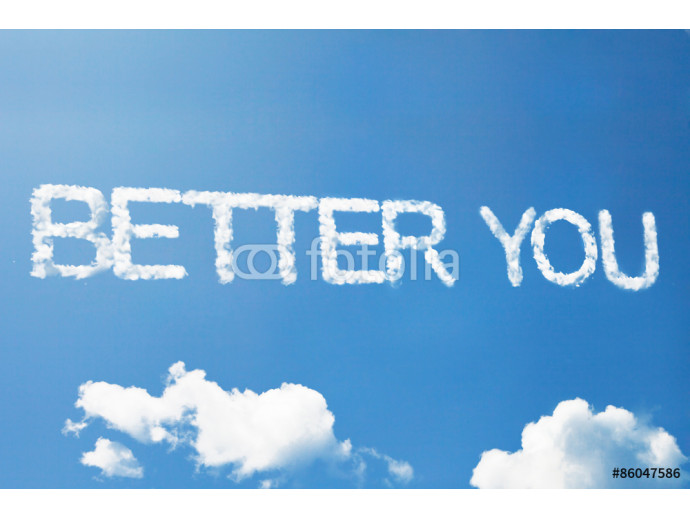 """Better you"" a cloud word on sky 64238"