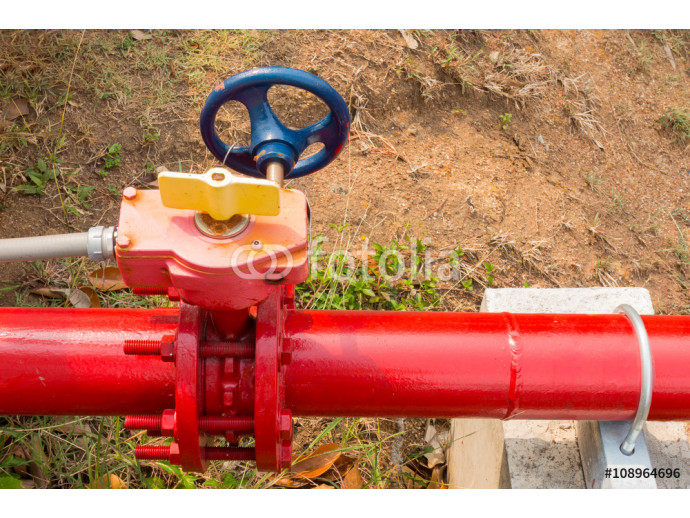 Supervisory valve for fire protection system. 64238