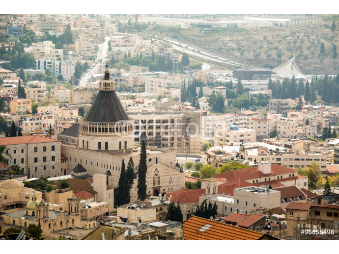 Panorama of Nazareth, Israel 64238