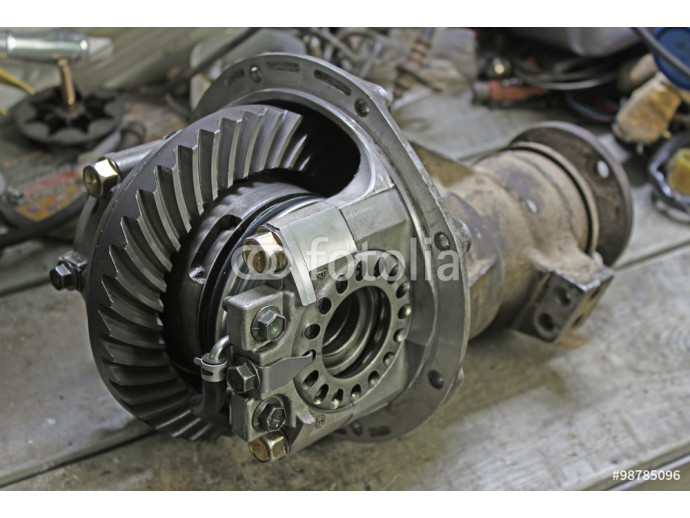 Front reduction gear from a Japanese car 64238