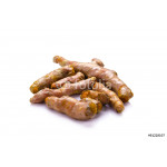 turmeric on white background 64238