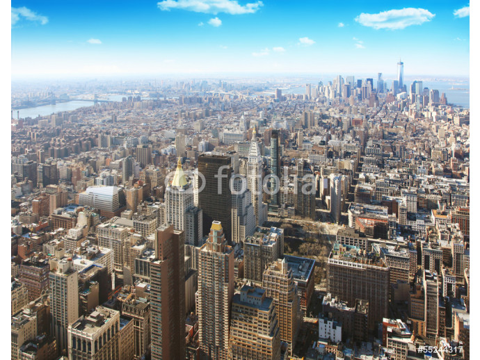 New York city.Aerial view. 64238