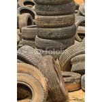 Very old car tires 64238